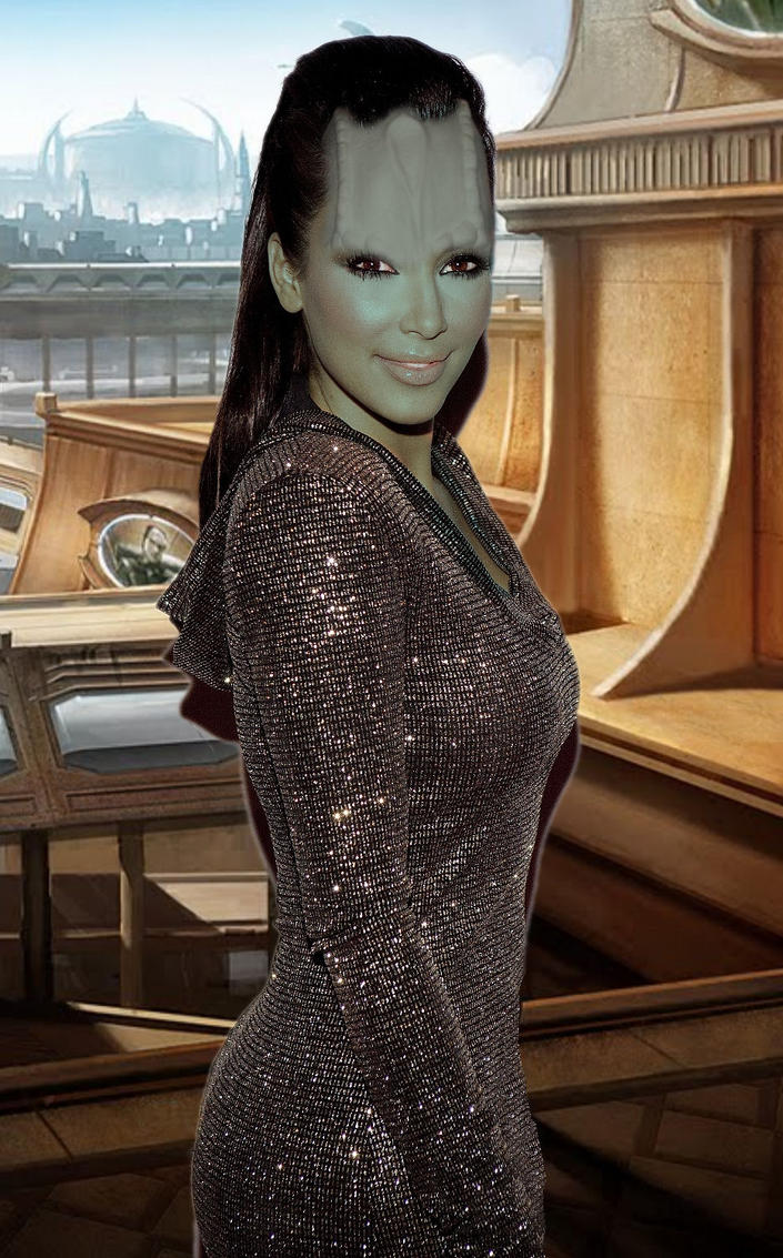 Kim Cardassian by Brandtk