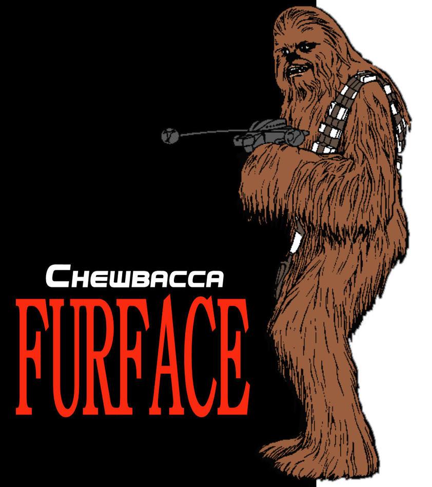 chewbacca starring in furface by brandtk on deviantart