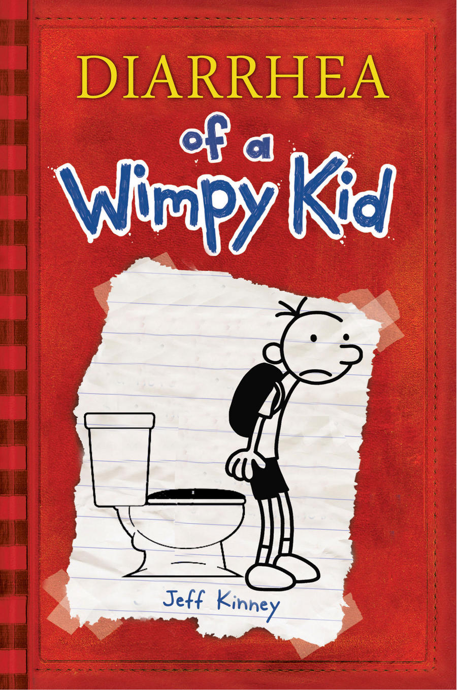 how to draw diary of a wimpy kid book cover
