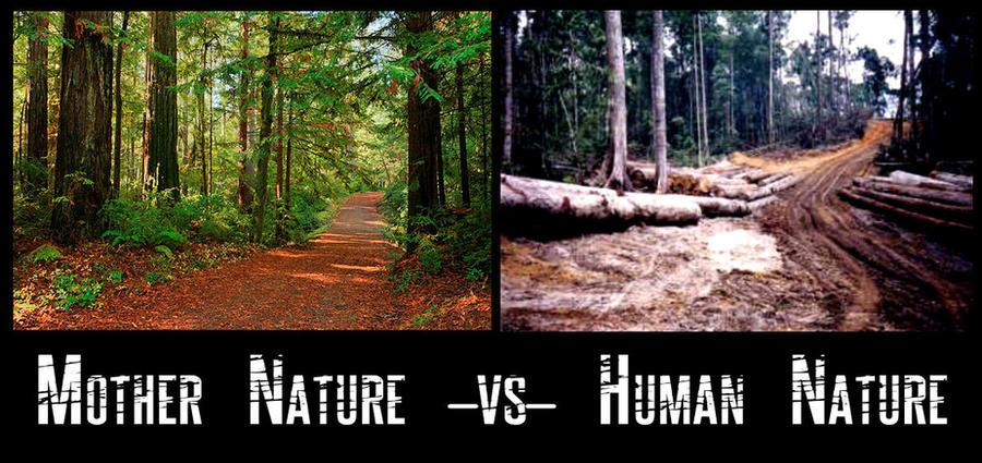 changing human nature relationship harmony