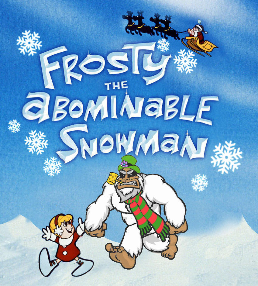 Frosty the Abominable Snowman by Brandtk on DeviantArt