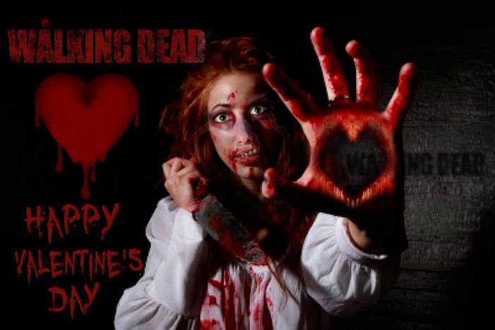 Walking Dead Happy Valentineu0027s Day By Brandtk ...