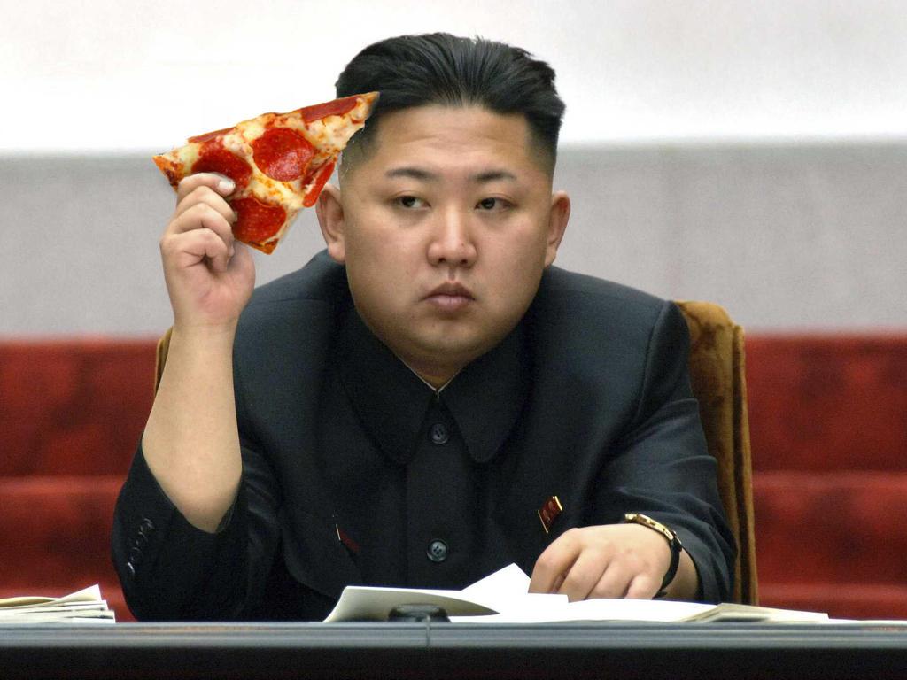 Pizza Time Kim Jong Eun