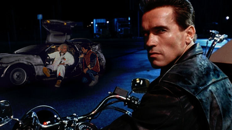 Image result for terminator back to the future