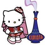 I Dream of Jeannie Hello Kitty