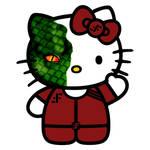V Visitors Diana Hello Kitty