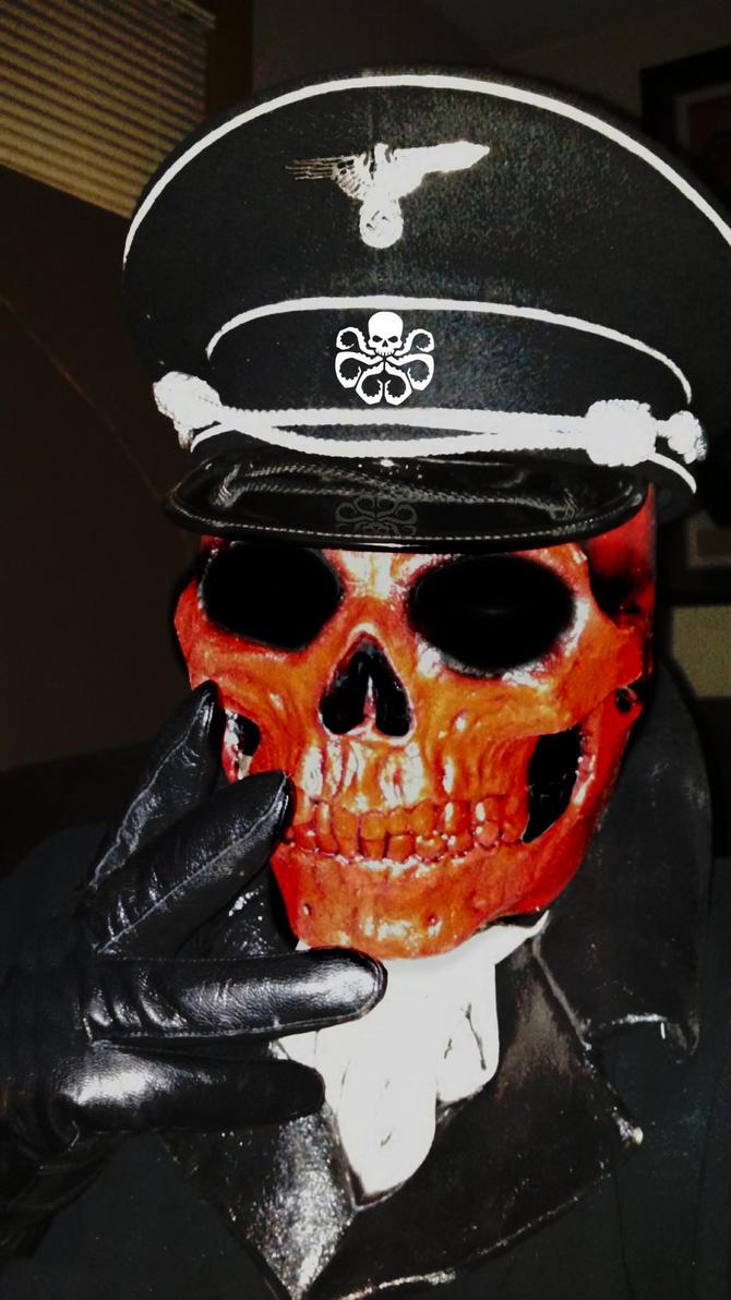Me as Red Skull by Brandtk