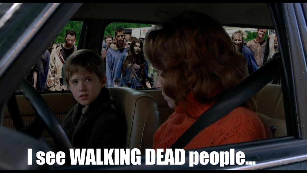 I see Walking Dead people by Brandtk