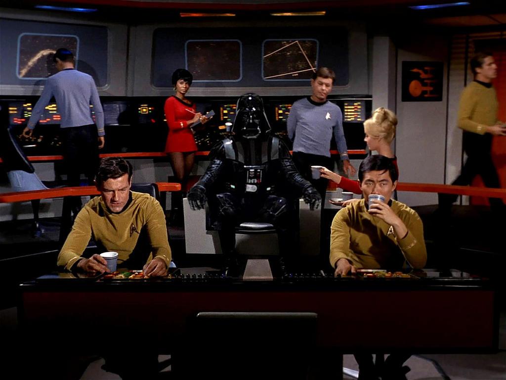 Darth Vader Star Trek by Brandtk