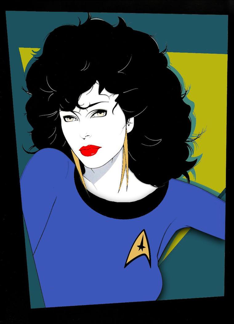 Joan Collins Nagel if Edith Keeler joins Starfleet by Brandtk