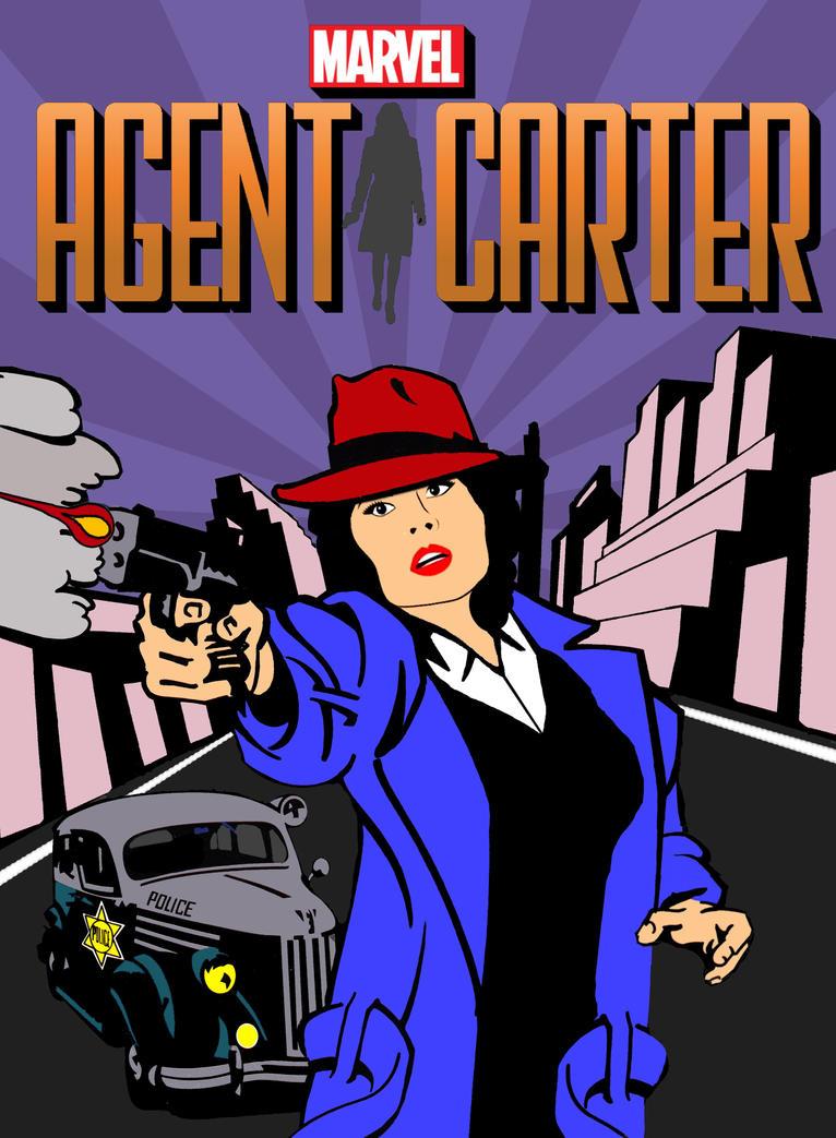 Agent Carter by Brandtk