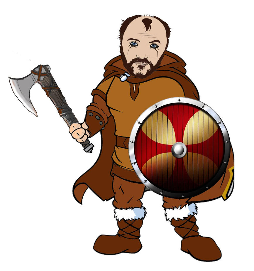 Me as Floki Vikings by Brandtk