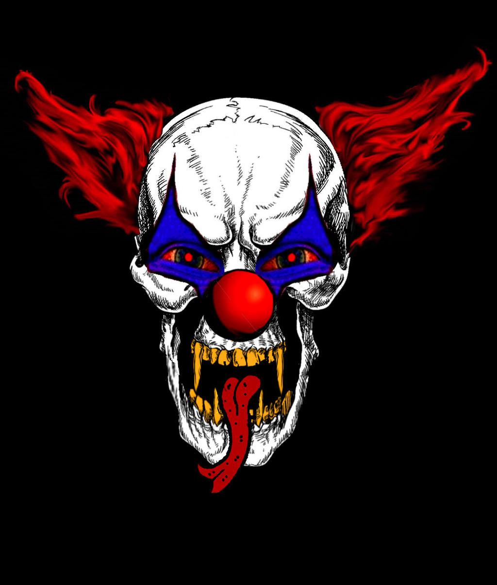 Demon Clown Drawings   www.imgkid.com - The Image Kid Has It!