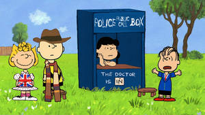 Peanuts Doctor Who by Brandtk