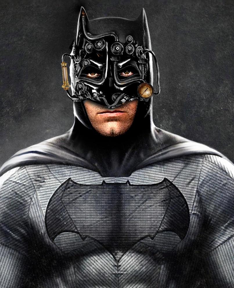 Steampunk Batman by Brandtk