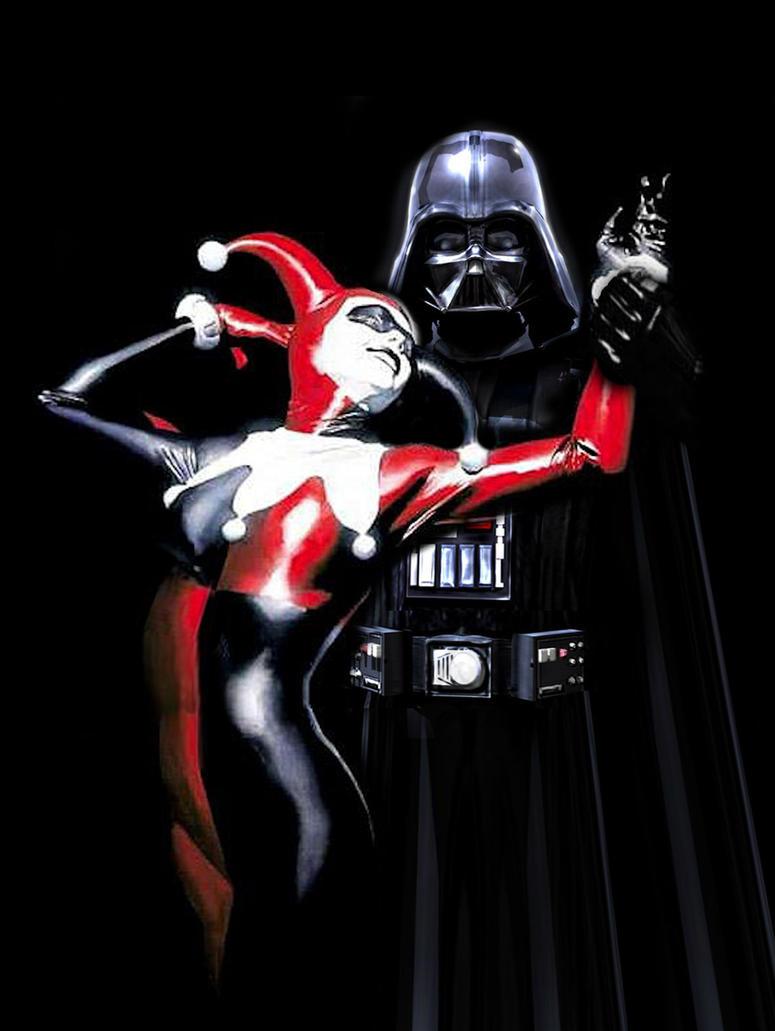 Darth Vader Harley Quinn by Brandtk
