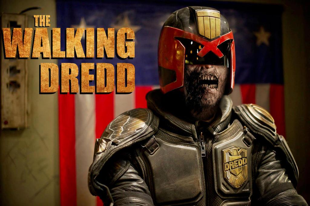 The Walking Dredd by Brandtk