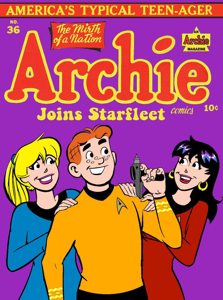 Archie joins Starfleet by Brandtk