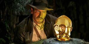 Indiana Jones and C3PO