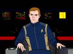 Star Trek Discovery Animated Kirk