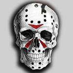 Jason Friday the 13th skull