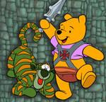 winnie the pooh as he-man