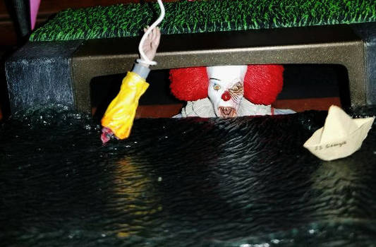 Pennywise Sewer Figure