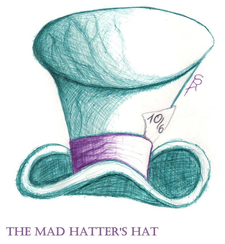 mad hatters hat by serafineenifares on deviantart
