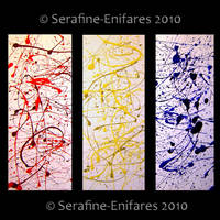 Jackson Pollock Paintings by serafine-enifares