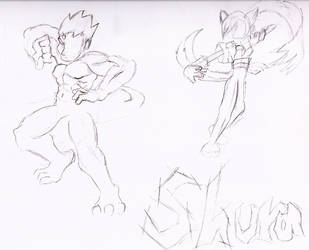 Shura sketch by Dracomega