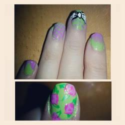 Pastel Nails! by Luna-child