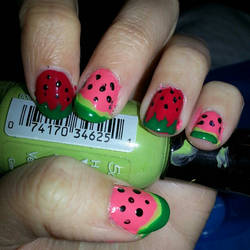 Fruity Nails by Luna-child