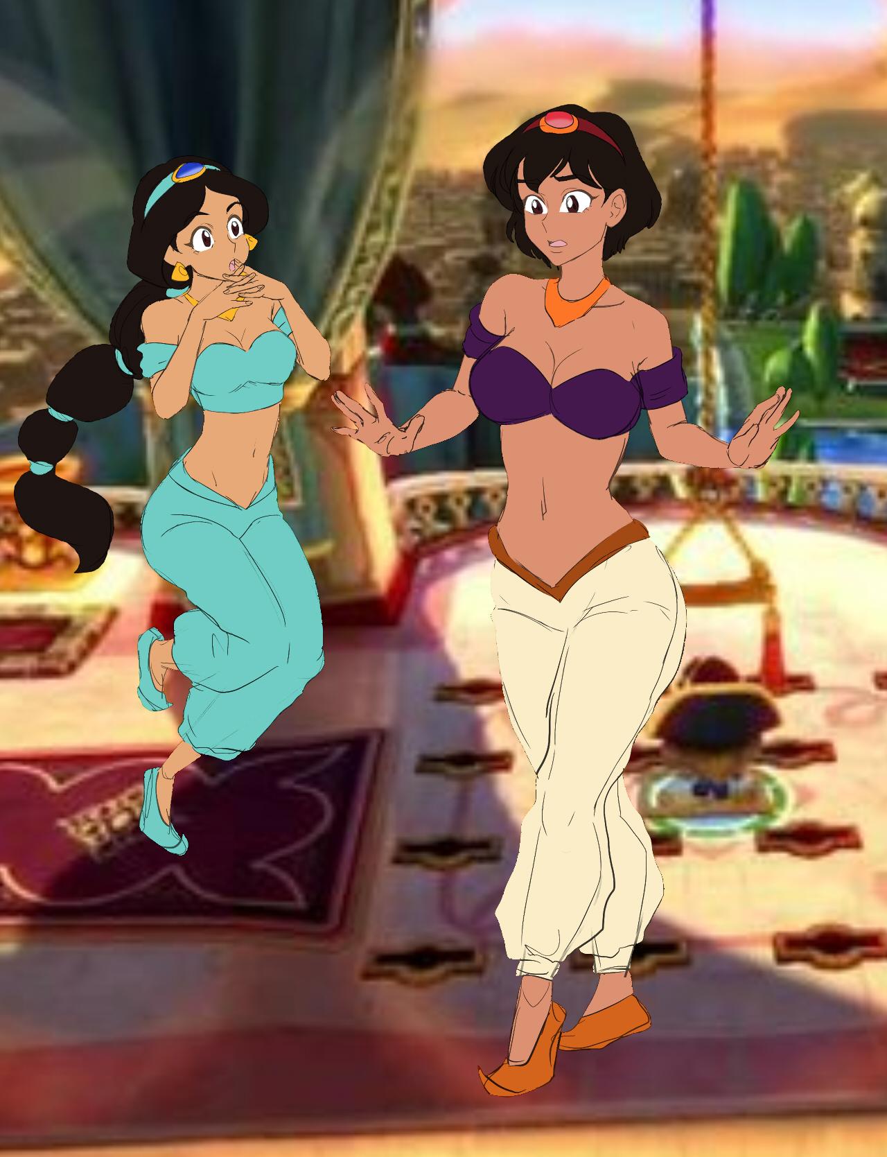 Aladdin Sexy aladdin and jasmine tgrezubanmusicmaster1216 on
