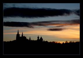 Prague Sunset by mariepb