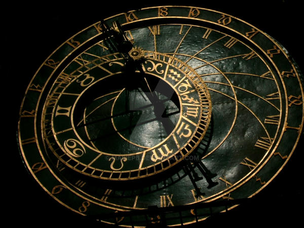 Astronomical Clock Tattoo: Astronomical Clock By Mariepb On DeviantArt