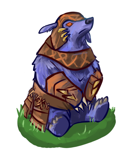 dota 2 ursa fuzzy wuzzy by bread doh on deviantart