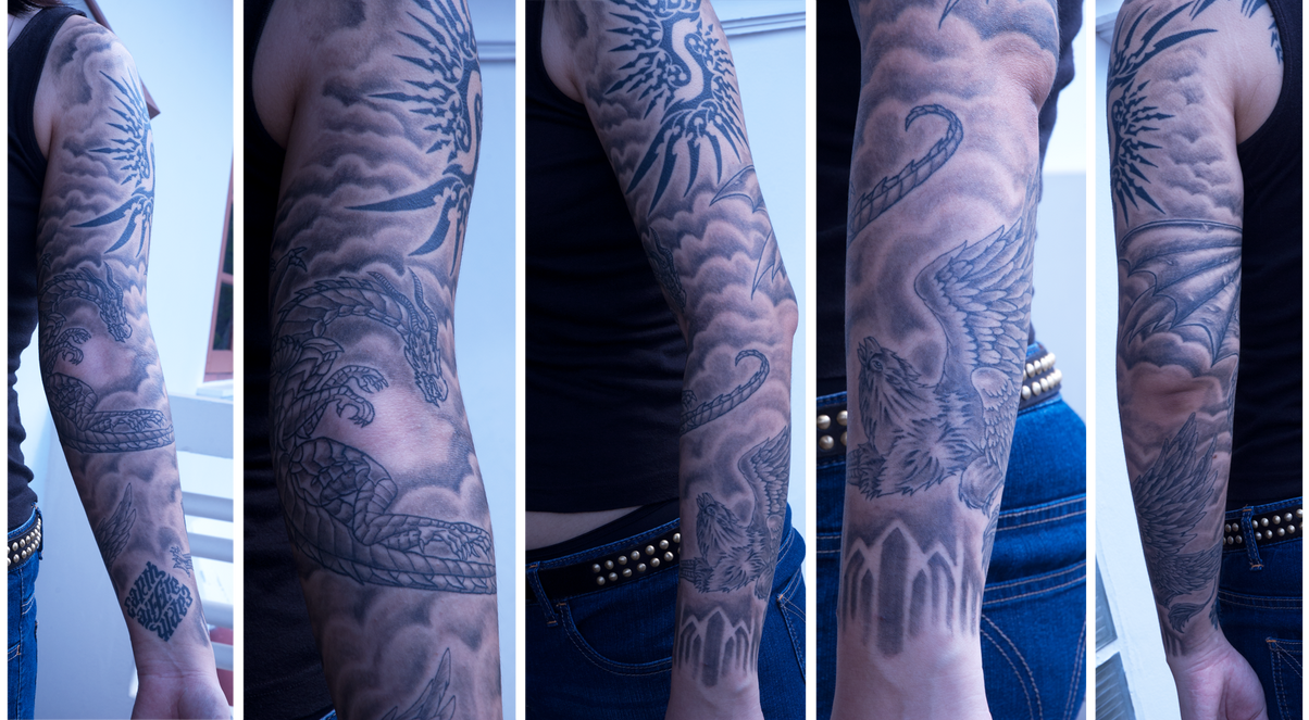 Full Sleeve Tattoo Designs For Sale