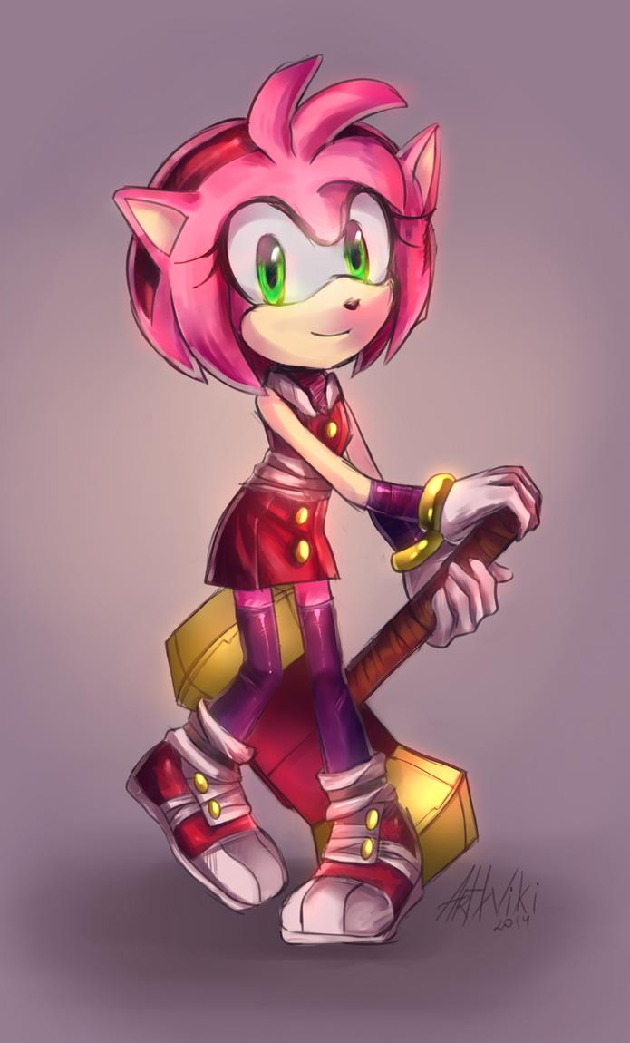 Sonic boom: Amy Rose by ArtWiki on DeviantArt