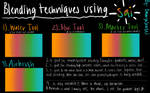 PaintTool Sai - Blending tools tutorial