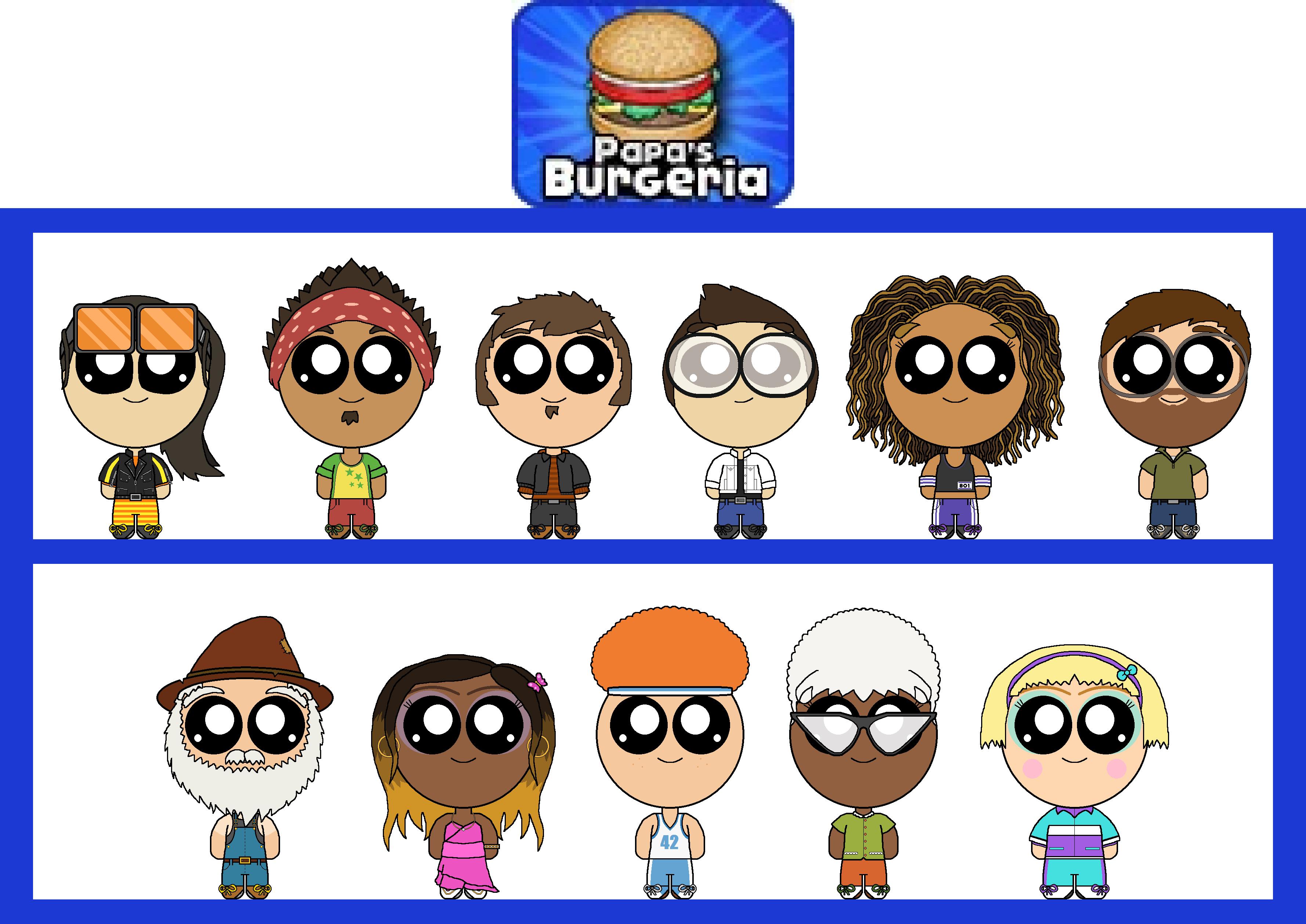 Flipline Studios Customers Burgeria By Thesweetpinkcutie On Deviantart