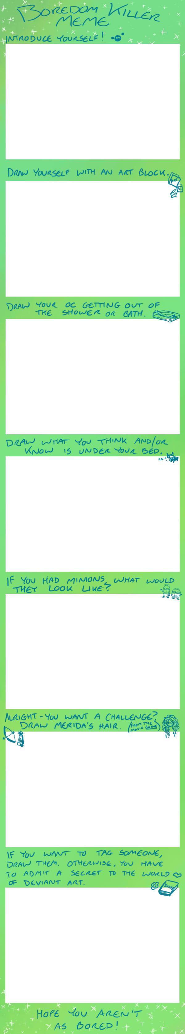 Blank Boredom Meme by FlirtingWithInsanity
