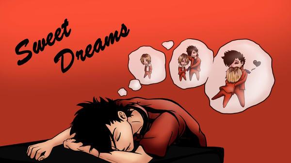 Sleepy Kuro Wallpaper by FlirtingWithInsanity