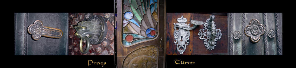 The doors of Prague