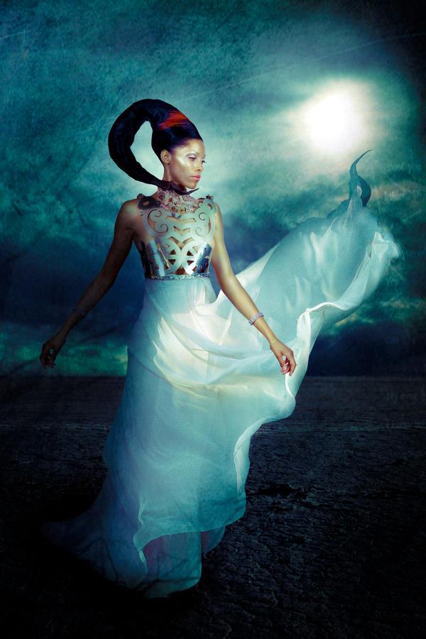 Janet White Dress by Mo-Nabbach