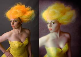 Retouching Photo manipulation by Mo-Nabbach