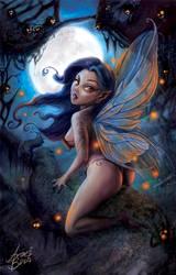 Fairy Fireflies by andrebdois