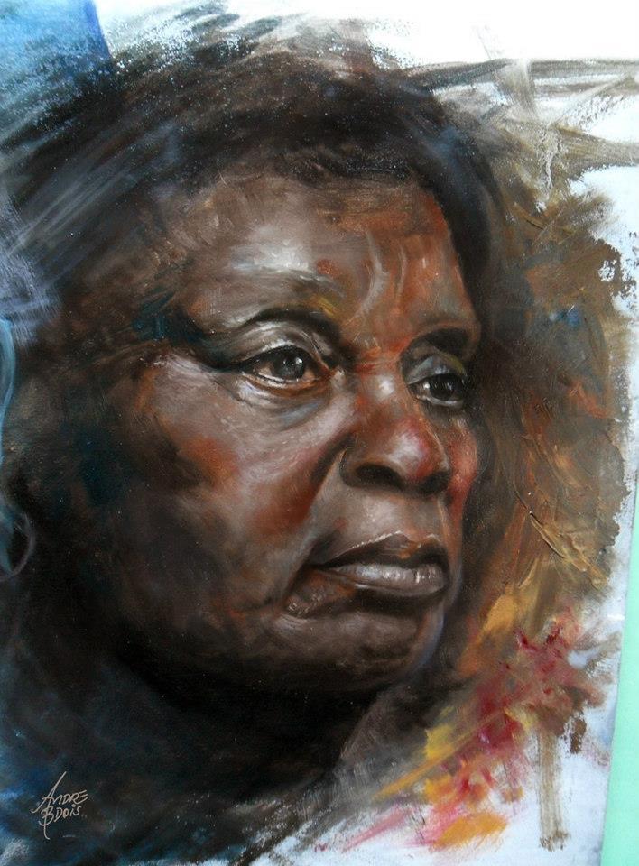 Study Black Skin 01 by andrebdois