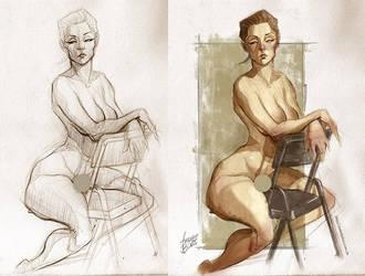 Stylized anatomy