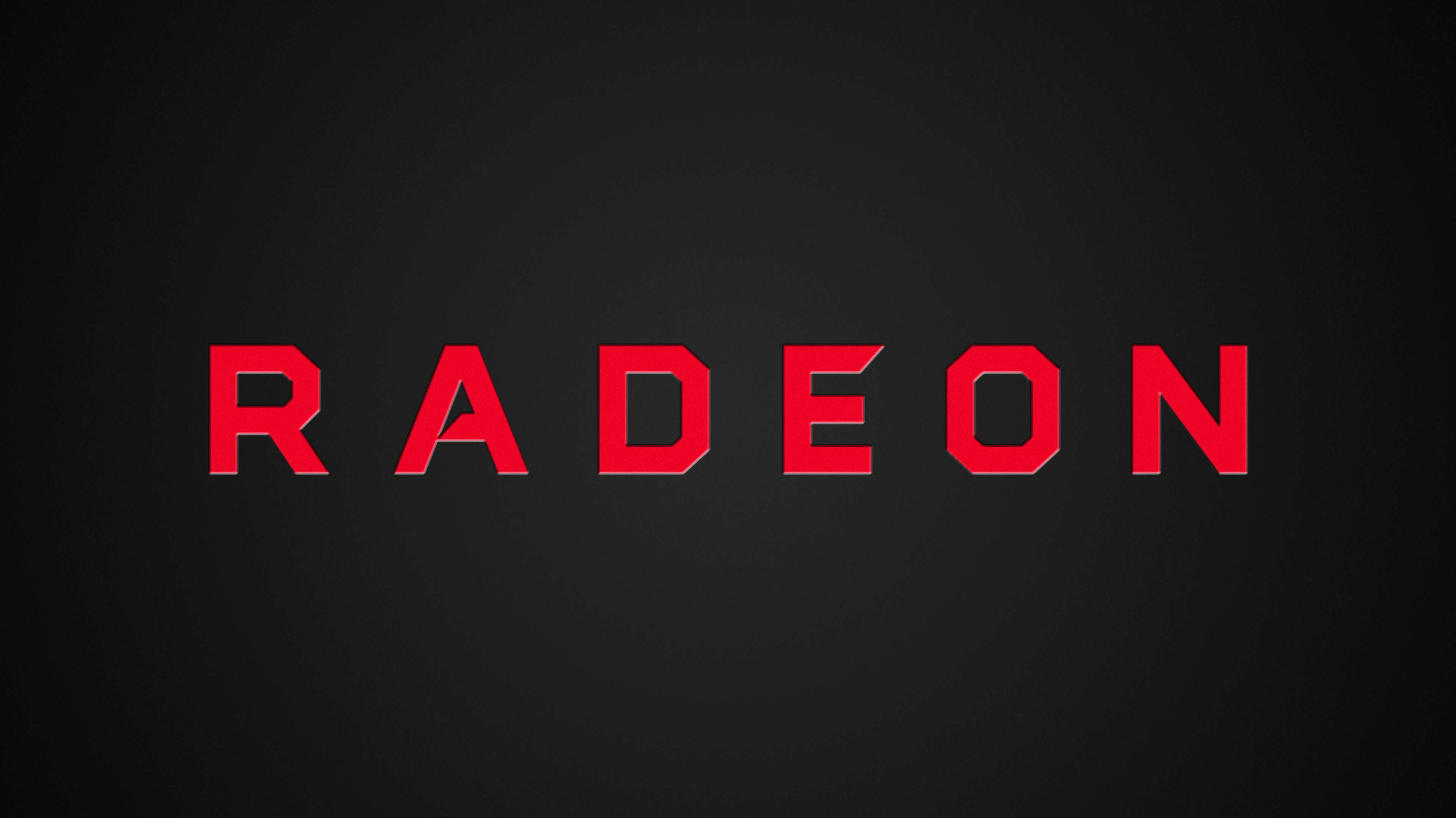new radeon logo 4k wallpaper by rv770 on deviantart