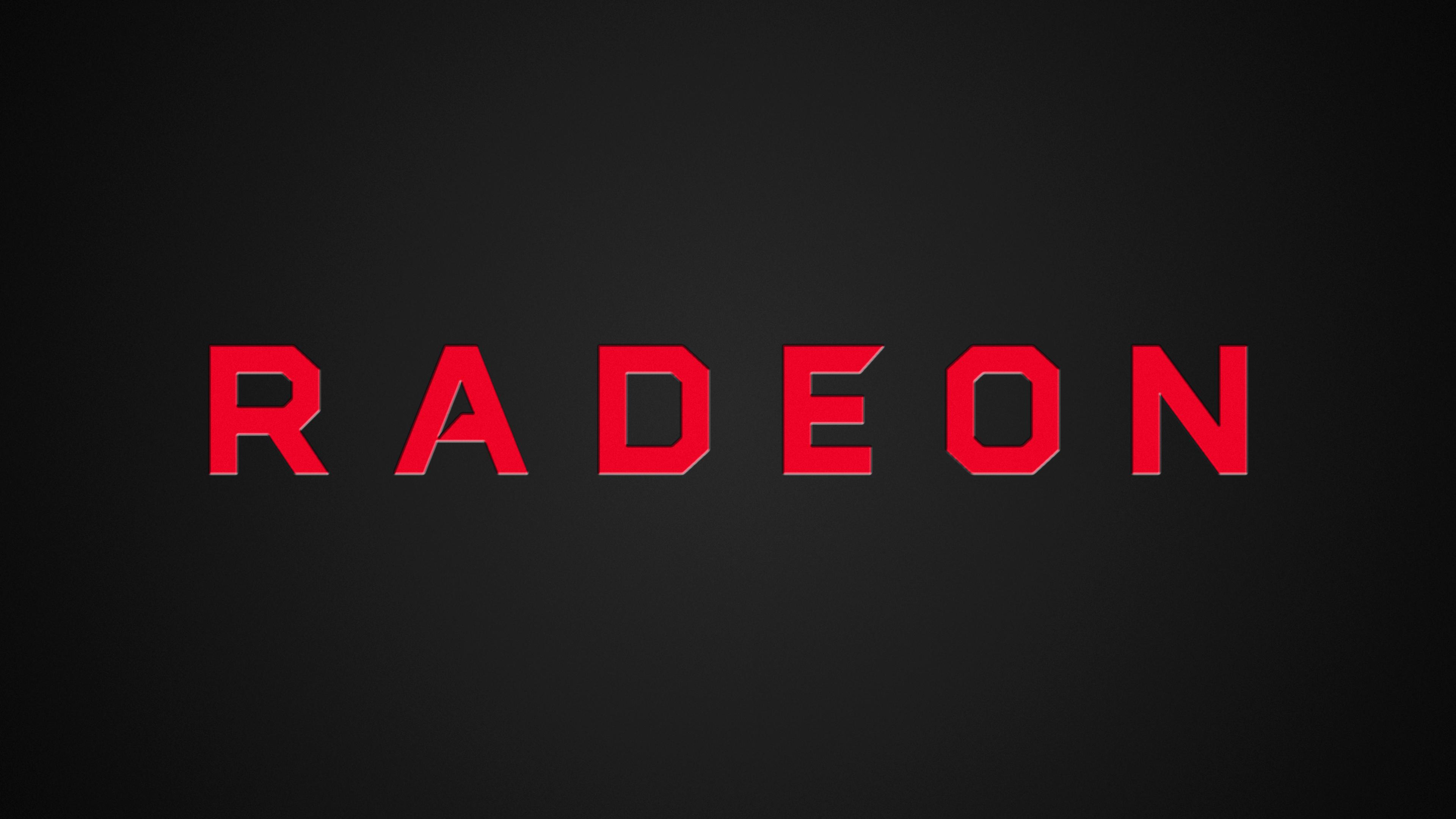 New Radeon Logo 4K Wallpaper